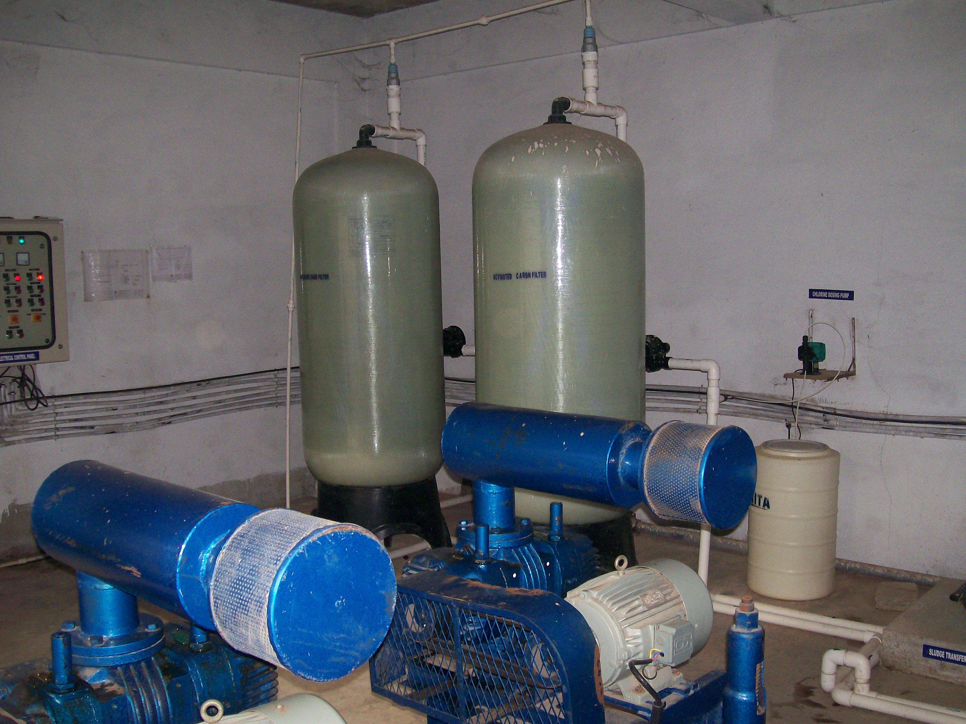 Sewage Treatment Plant Tropicaal Waters India Pvt Ltd